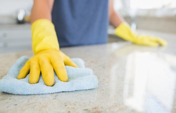How to clean your granite worktop
